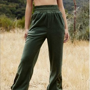 Free People Slouch It Fleece Jogger